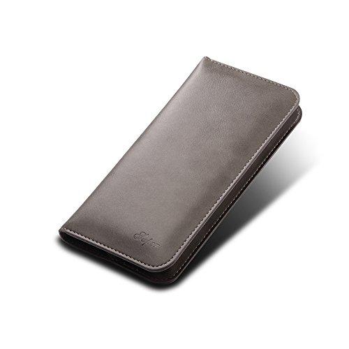 Uniqstore multifunktionale Brieftasche Phone Hülle für IPhone X Grau Grau