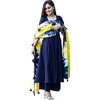 CAPITAL KING Women's Rayon Readymade Salwar Suit