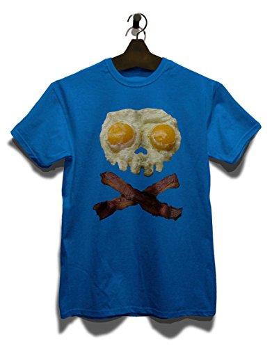 Eggs N Bacon Skull T-Shirt Royal Blau
