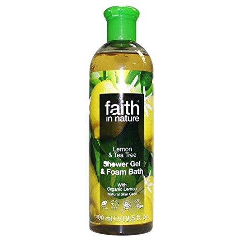 Faith | Lemon & Tea Tree Shower/Foam | 6 x 400ml