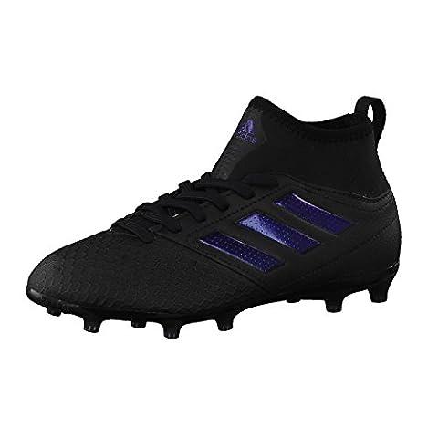 adidas Ace 17.3 Fg, Chaussures de Football Mixte Enfant, Noir
