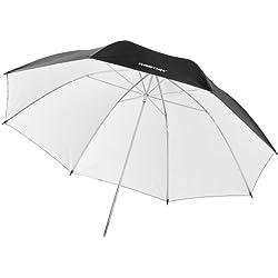 Parapluie walimex pro reflex noir/blanc, 84cm