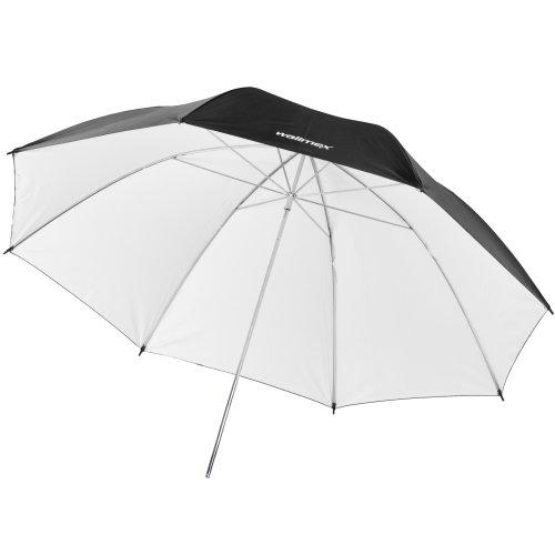 Walimex Pro Reflexschirm (109 cm) schwarz/weiß