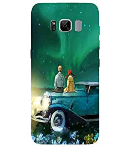 For Samsung Galaxy S8 Plus :: Samsung Galaxy S8+ beautiful couple, couple, nice couple, car, nice ar Designer Printed High Quality Smooth Matte Protective Mobile Pouch Back Case Cover by BUZZWORLD