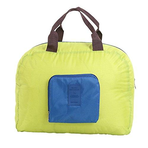 Fortuning's JDS® Multi-fonction poids léger pliable sac de Voyage vert