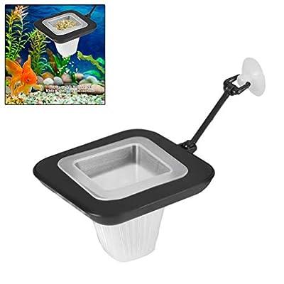 Aquarium Trichter Aquarium Feeder Red Worm Fish Feeder mit Saugnapf Live Worm Cone Feed Tools