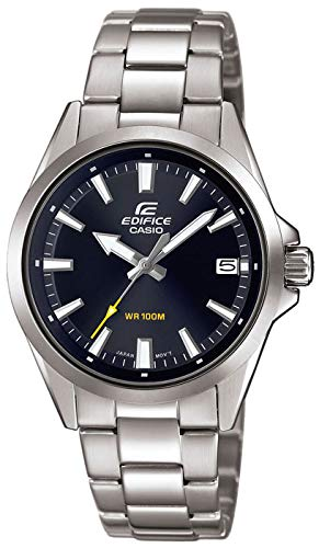 Casio Mens Analogue Quartz Watch with Stainless Steel Strap EFV-110D-1AVUEF Best Price and Cheapest