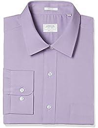 Arrow Men's Solid Regular Fit Cotton Formal Shirt