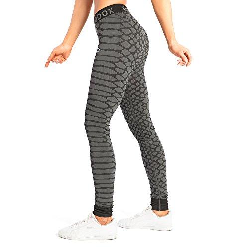 SMILODOX Sport Leggings Damen Scale | Seamless - Figurformende Tight für Sport Fitness Gym Training | Sporthose - Workout Trainingshose -...