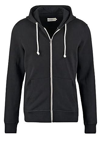PIER ONE Sweatshirt Jacke Herren in Schwarz, Größe XXL