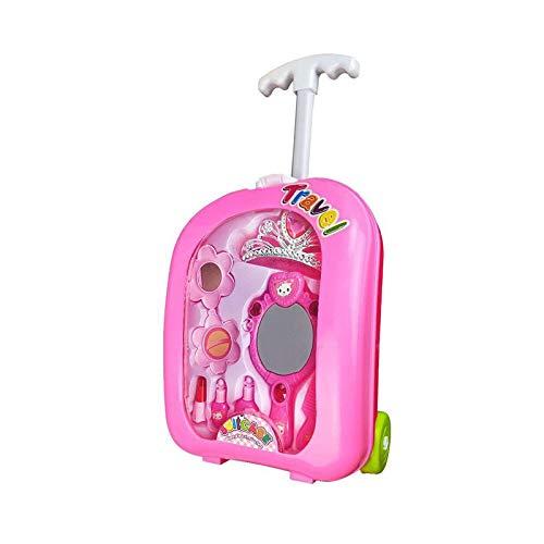 ruoyu Mädchen Über Die Familie Spielzeug Kinder Simulation Schmuck Spielzeug Set Hand-Pull-Box 22 X 28cm (Schmuck-box Für Kinder Im Alter Von 8)