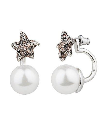 six-trend-hange-ohrring-damen-ohrringe-earring-seestern-mit-rosa-strass-steinen-und-weisser-perle-al