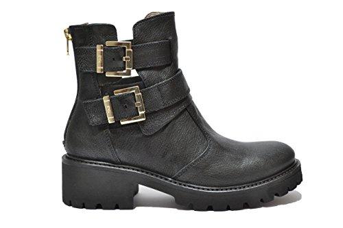 Nero Giardini Tronchetti anfibi scarpe nero3913 donna A513913D 36