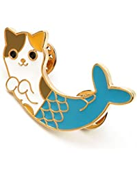 Tradico® Chic Cat Fish Collar Pins Badge Corsage Cartoon Brooch Jewelry Accessory Gift