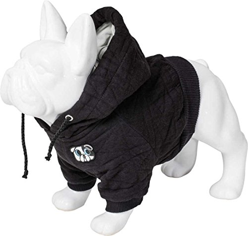 Karl Lagerfeld Haustiere Hunde Pullover Sweater, Farbe: Schwarz, Größe: 30
