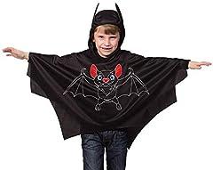 Idea Regalo - Mantello pipistrello bambino