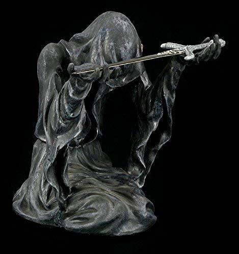 Schattendämon mit Brieföffner | Reaper Figur mit Schwert