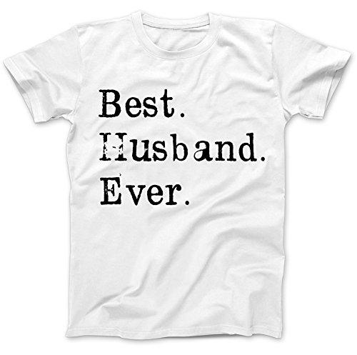 Best Husband Ever Hubby T-Shirt 100% Baumwolle Wei�