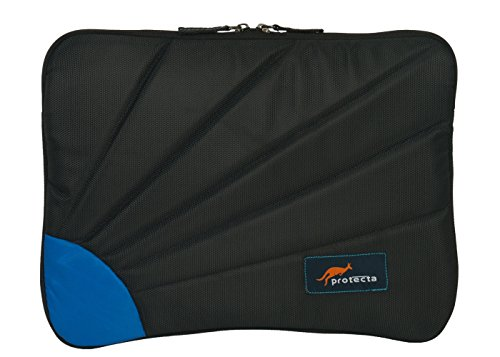 Protecta Rays Laptop Sleeve for 15.6 Inches (Black & Blue)