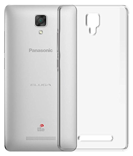 M.G.R [ Panasonic Eluga I2 4G ] Ultra Thin 0.3mm Clear Transparent Flexible Soft TPU Slim Back Case Cover  available at amazon for Rs.129