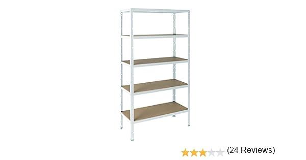 A storage scaffale in metallo rp5 40 5w: amazon.it: fai da te