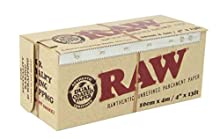 RAW Unrefined Parchment Paper Roll 100mm x 4m by Raw