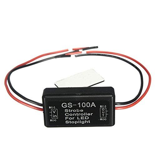 Impermeabile gs-100a LED freno luce flash Strobe controller Flasher) per veicolo