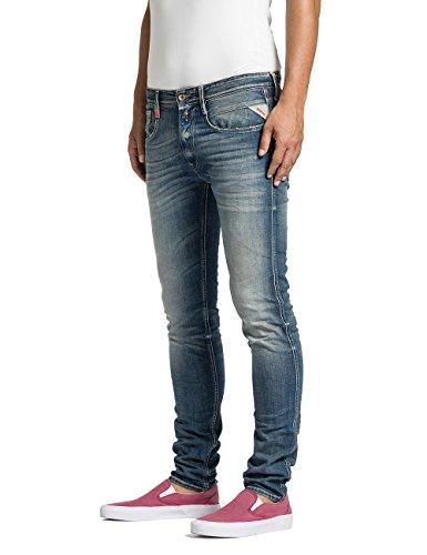 Replay Anbass - Jeans - Slim - Homme Bleu (Blue Denim 9)
