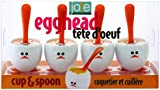 Joie Egg Cup and Spoon Set, Multi-Colour
