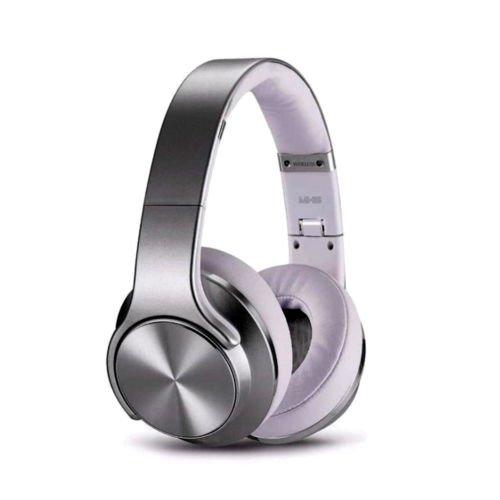 SODO MH5Bluetooth Stereo Kopfhörer und Lautsprecher 2in 1Kopfhörer schwarz silber (Hörgerät Mode)