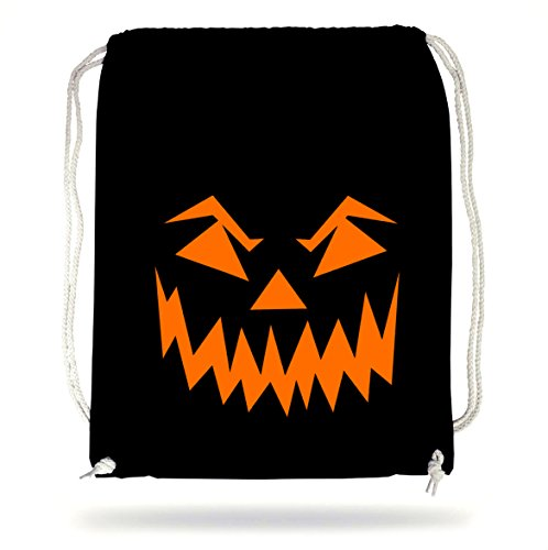 Halloween Face Gymsack Black Certified Freak