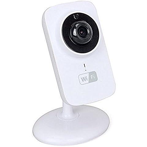 Tomlov Mini SD IP Wifi Wireless cámara CCTV Baby monitor HD 720P Smartphone Vigilabebés con Cámara con un marcador (Tipo 1)