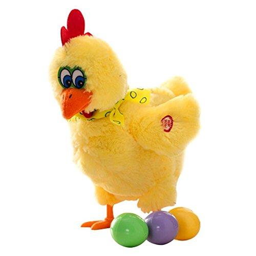 Aideal Eierlegendes Huhn mit Musik, Eier Legen Plüsch Spielzeug ...