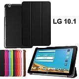 asng LG G Pad X 10.1Case-Ultra Slim Leicht Standing Cover für LG G Pad 225,7cm (V940)/LG G Pad X 25,7cm (4G LTE at und T V930) Android 2015Tablet Schwarz