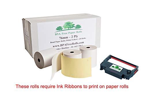 Compatible Epson tm-j9100 2 capas Rollos De Papel