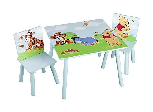 Delta Winnie the Pooh Kleiner Tisch und Stühle (Blau)