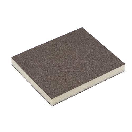 Sourcingmap Aluminiumoxid Schleifschwamm Block für Holz Paint Metall