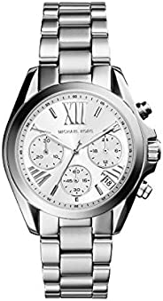 Michael Kors Mini Bradshaw Womens Chronograph Casual Watch, Analog and Stainless Steel - MK6174