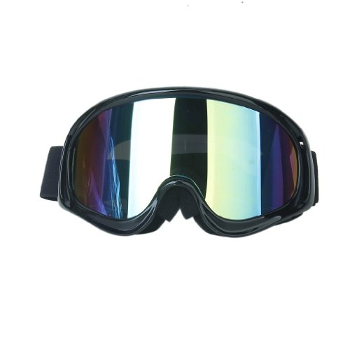 YiGo Unisex-Adult Motocross MTB ATV/Dirtbike Racing Schutzbrille, Schwarz, 1pcs