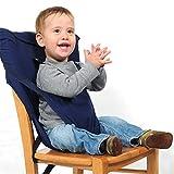 TRULIL Asiento Lavable para Trona Trona de Viaje para Bebé Silla Alta Bebe Portatil Arnés de Seguridad Infantil Ideal para Comer Fuera de Casa y Vacaciones Muy Práctico Perfecto Regalo