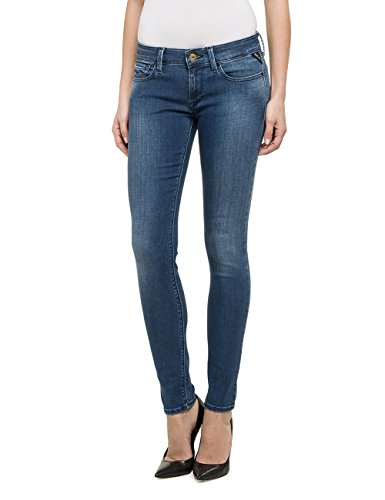 Replay - Luz, Jeans Da Donna, Blu (Blue Denim 605-9), W29/L30