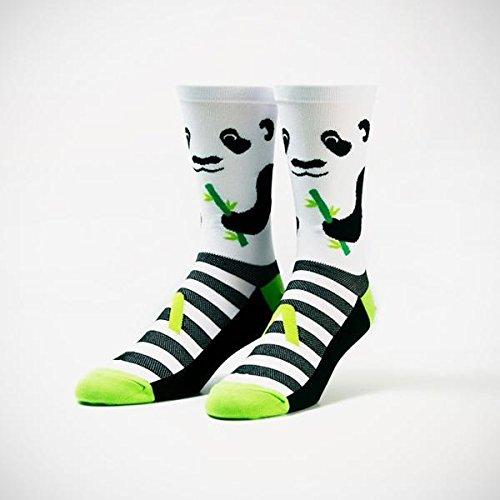 Primal Wear Herren Panda Cycling Bike Socken, Mehrfarbig, Size 9-13/Large/X-Large