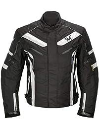 70fae771c50 Chaqueta de Motocicleta de Moto para Hombre, Impermeable, Respirable,  Armadura Protección, con