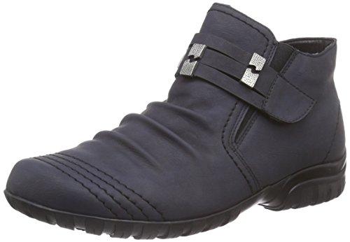 Rieker L4693 Damen Kurzschaft Stiefel Blau (ozean / 14)