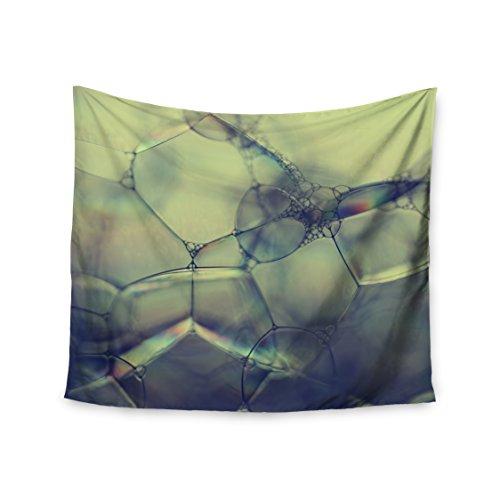 kess-cmy-51-x-152-ingrid-beddoes-bubblicious-verde-blu-college-dorm-room-da-parete