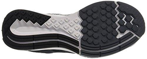 Nike Wmns Air Zoom Elite 8, Chaussures de Running Entrainement Femme, Taille Noir (Noir / Blanc-Loup Gris-Drk Gris)
