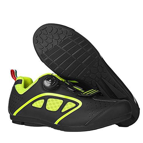 Scarpe da Ciclismo da Mountain Bike, Scarpe da Ciclismo Traspiranti Scarpe da Trekking Leggere da Uomo e da Donna, Ideali per Gli Sport all'Aria Aperta ZDDAB
