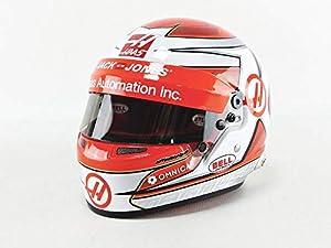 Mini Helmet 4148655 - Coche en Miniatura, Color Rojo y Blanco