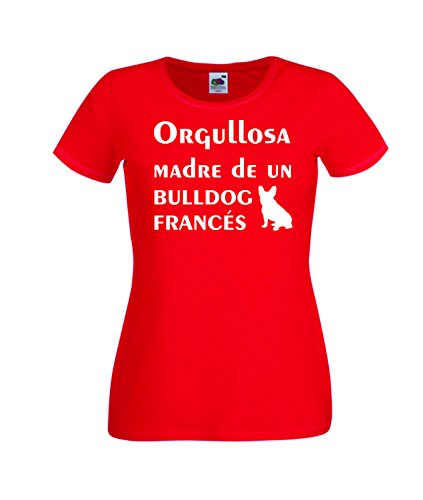 Camisetas divertidas Child Orgullosa Madre de un Bulldog Frances - para Mujer...