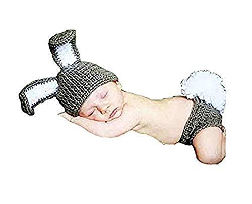 e Requisite Häkelmütze, gestrickt, Kaninchen-Kostüm ()